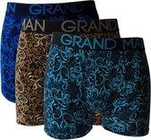 Grand Man 3-PACK BOXERSHORT Maat M