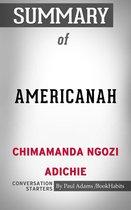 Boek cover Summary of Americanah van Paul Adams