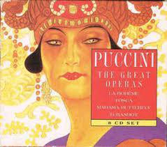 8-CD PUCCINI - THE GREAT OPERAS - VARIOUS