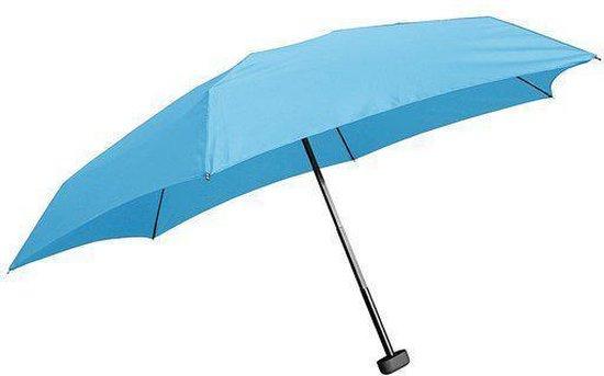 EuroSCHIRM Dainty Pocket - Paraplu - Ø 86 cm - Blauw