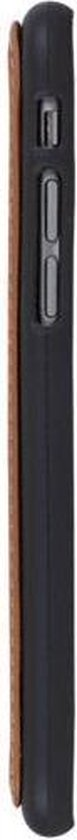 GALATA® Echte Lederen Flex-Jacket TPU back cover voor iPhone 6 PLUS / 6S PLUS gebrand blauw