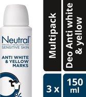 Neutral AP Deo Antiwhite&yellow - 3x150ml