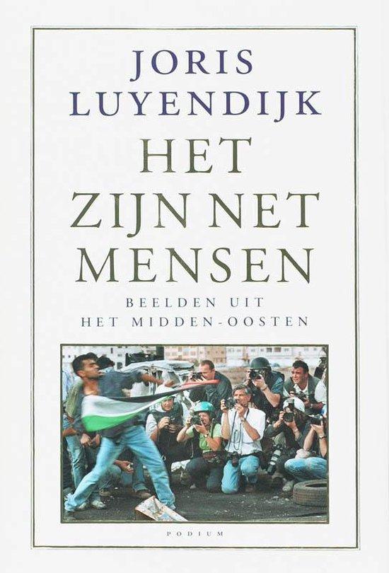 Boek cover Het zijn net mensen van Joris Luyendijk (Hardcover)