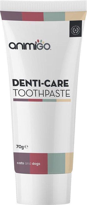 Animigo - Denti-Care - Tandpasta voor honden en katten - Eetbare natuurlijke tandpasta - 70 g