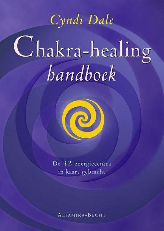 Cover van het boek 'Chakra-healing-handboek'
