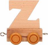 Houten letter trein Z