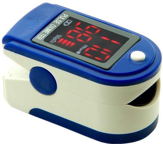 Contec CMS50DL Saturatiemeter Professioneel Beste Getest - Blauw