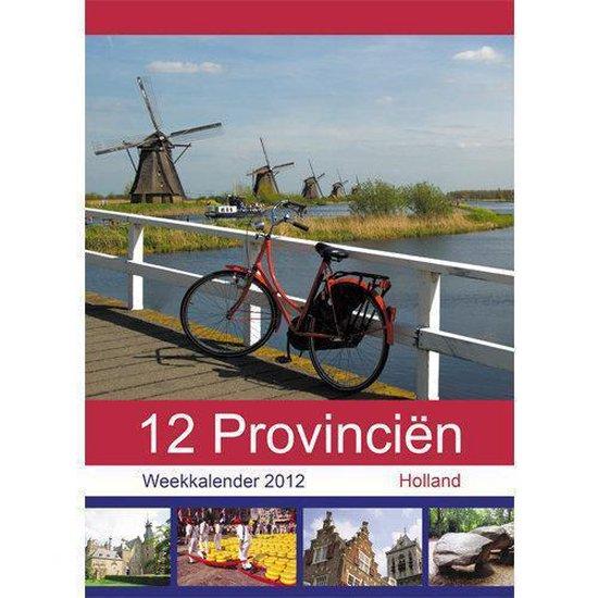 Cover van het boek '12 provinciën Week Notitie Kalender 2012'