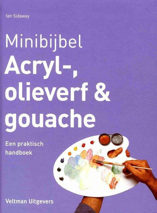 Minibijbel - Acryl-, olieverf en gouache - Ian Sidaway  