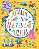 Omslag Totally Awesome Mazes and Puzzles