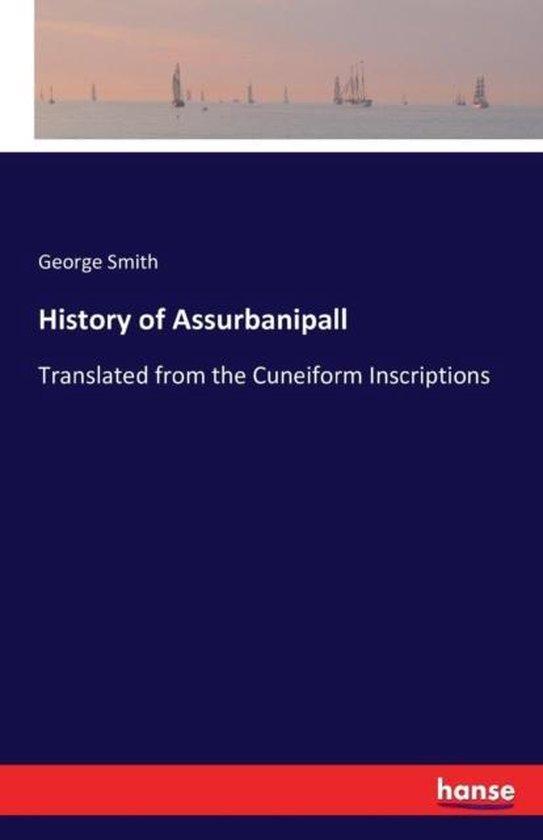 History of Assurbanipall