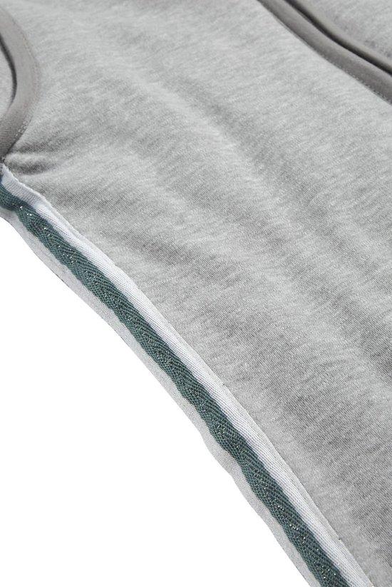 Meyco Basic Deluxe Winterslaapzak - 70 cm - Grijs met stone green