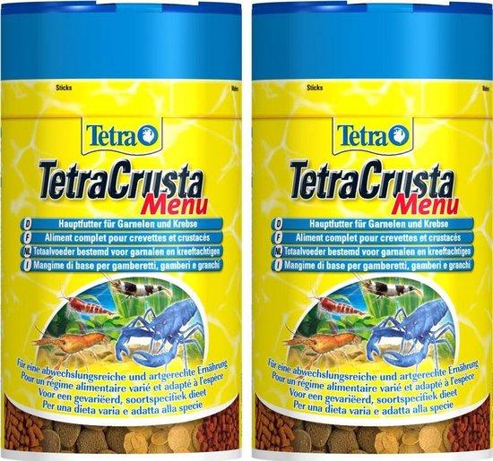 Tetra crusta voor garnalen en kreeften 100 ml - 2 stuks