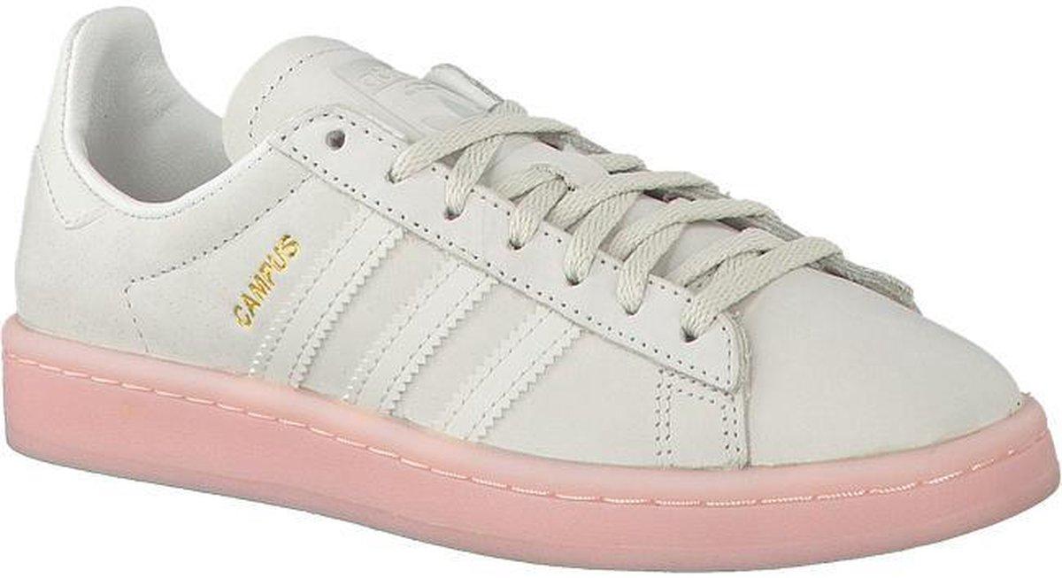 bol.com   Adidas Dames Sneakers Campus Dames - Wit - Maat 36⅔