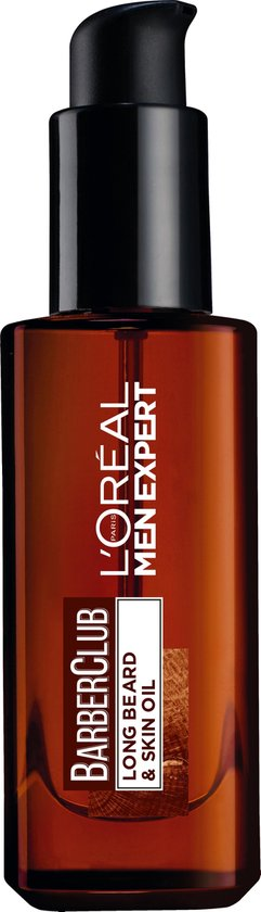 L'Oréal Paris Men Expert L'Oréal BarberClub Long Beard & Skin Oil Baardolie - 30 ml