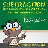 Subtraction 3rd Grade Math Essentials Children's Arithmetic Books