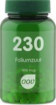 AOV 230 Foliumzuur 400 mcg Voedingssupplementen - 100 tabletten