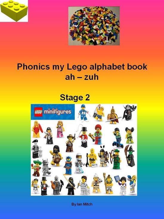 Omslag van Phonics my Lego Alphabet Book