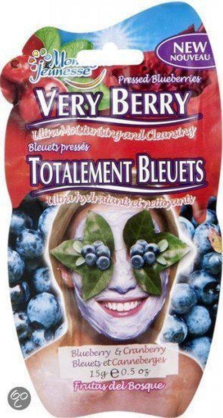 Montagne Jeunesse very berry Blueberry & Cranberry - Gezichtsmasker