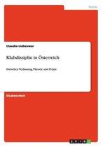 Klubdisziplin in OEsterreich