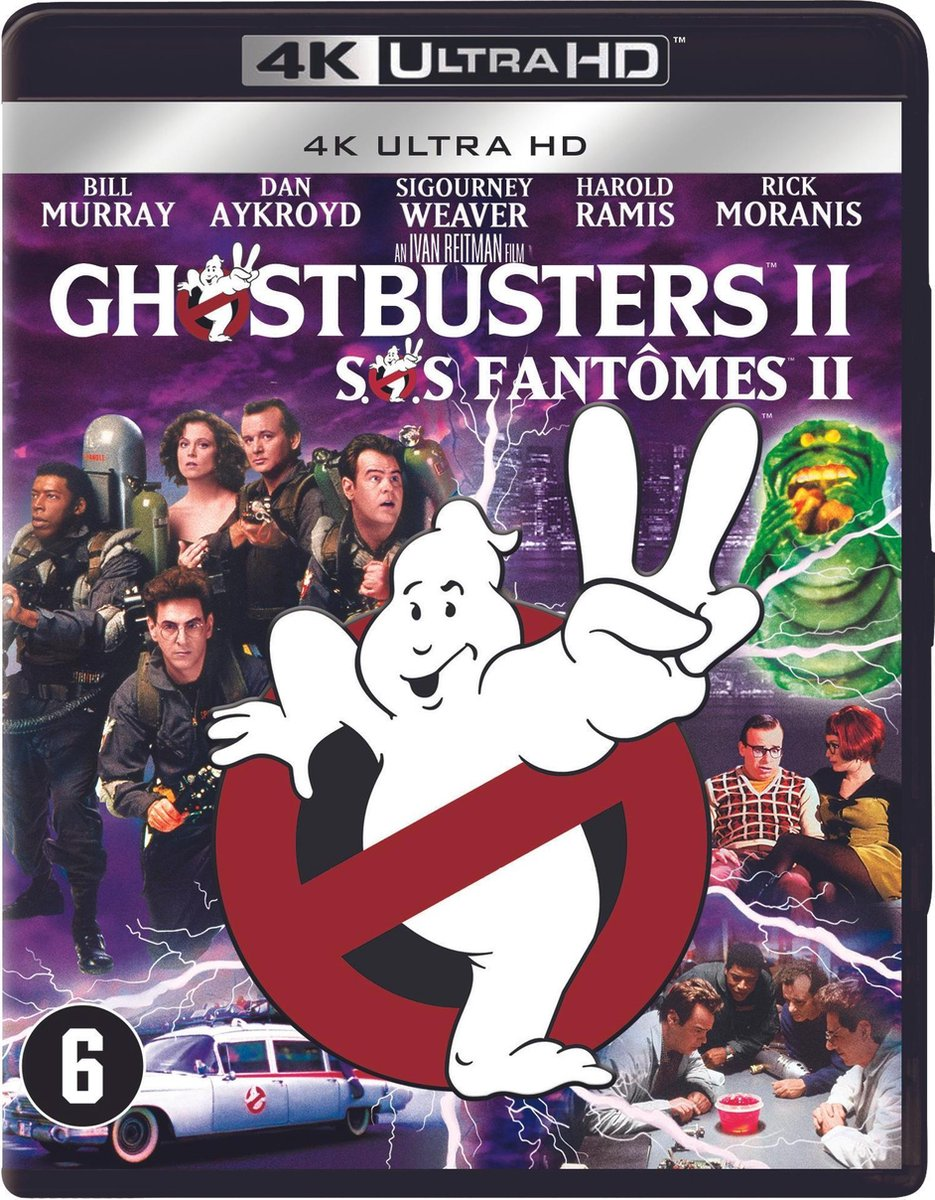 Ghostbusters II (4K Ultra HD Blu-ray)-