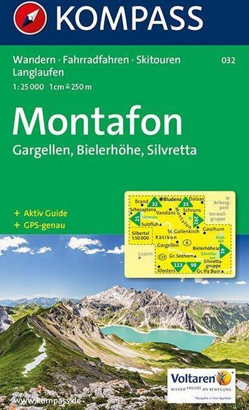 Cover van het boek '032: Alpenpark Montafon 1:35, 000'