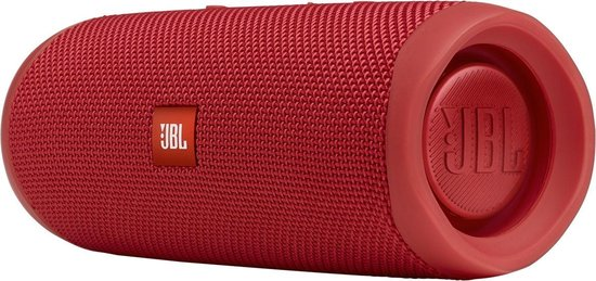 Jbl Flip 5, Bluetooth Box (Waterdichte, Draagbare Luidspreker, Tot 12 Uur Draadloos Muziek Afspelen), Rood