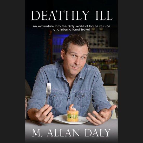Boek cover Deathly Ill van M. Allan Daly (Onbekend)