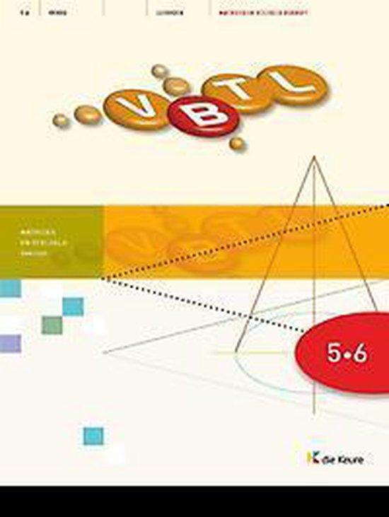 Vbtl 5/6 - kathondvla - leerboek matrices en stelsels (beknopt) - Philip Bogaert  
