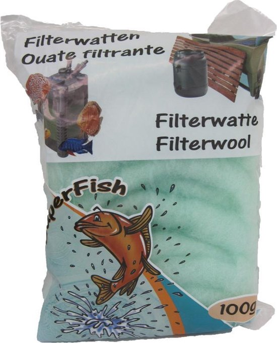 Superfish filterwatten grof groen - 100 gr