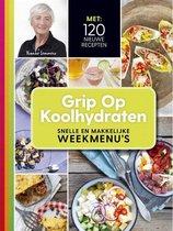 Boek cover Grip op koolhydraten Snelle en makkelijke weekmenus van Yvonne Lemmers (Paperback)