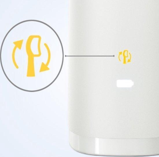 Philips Sonicare DiamondClean 9000 HX9911/03 - Luxe elektrische tandenborstel - Zilver en wit