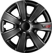 Autostyle Wieldoppen 14 inch VR Zwart - ABS