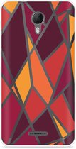 Wiko Jerry 2 Hoesje Colorful Triangles