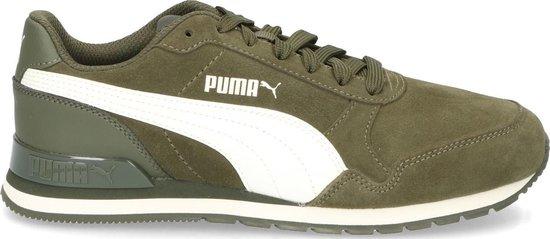 bol.com | Puma Jongens Sneakers St Runner V2 Sd Jr - Groen ...