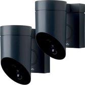 Somfy Outdoor Beveiligingscamera - Grijs - 2 stuks