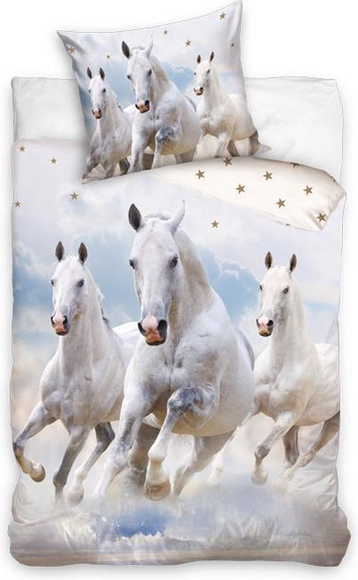 Animal Pictures white horse filled pouch - SimbaShop.nl | 840x518