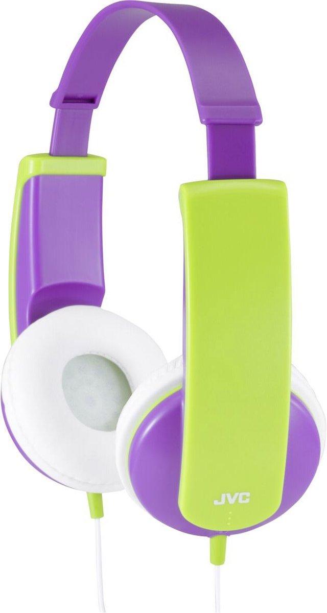 JVC HA-KD5 - On-ear kids koptelefoon - Paars/Groen