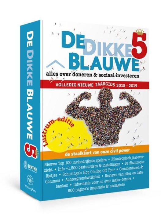 Boek cover De Dikke Blauwe 5 2018-2019 van  (Paperback)