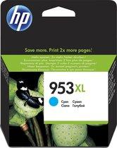 HP 953XL - Inktcartridge / Cyaan / Hoge Capaciteit