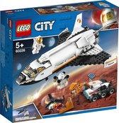LEGO City Ruimtevaart Mars Onderzoeksshuttle - 60226