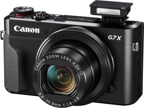 Canon PowerShot G7X Mark II - Vlog Kit - Inclusief Joby Gorilla 500 Tripod + 32GB SD-kaart