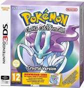 Pokemon Crystal - code in a box - 3DS