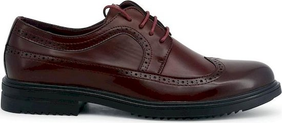 Duca di Morrone - Lace up - Heren - RICHARD - darkred