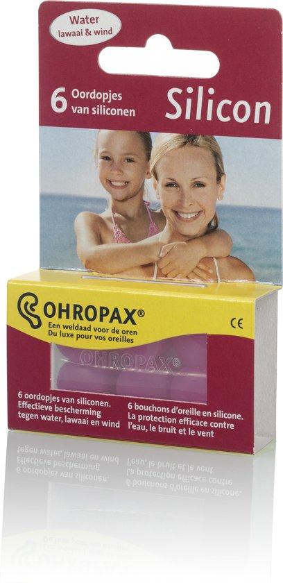 Ohropax - Siliconen Oordoppen - 3 paar