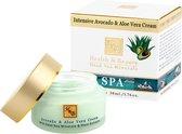 Avocado/Aloe Vera zacht voedende gezichtscrème 24h - 50 ml
