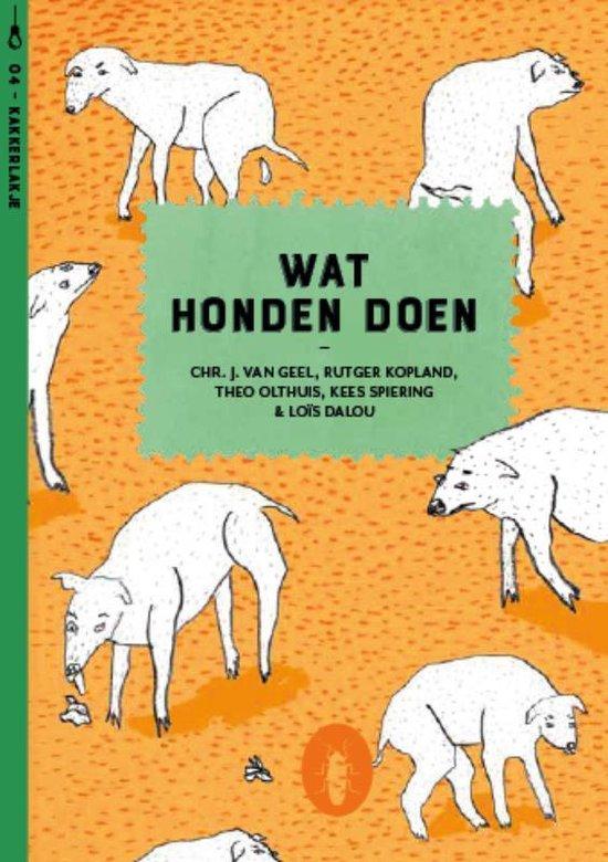 Kakkerlakjes poëzie 4 - Wat honden doen (set van 6) - Rutger Kopland |