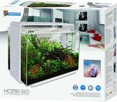 Superfish Home 80 LED Aquarium  - 65 x 31 x 56 cm - 80 L - Wit