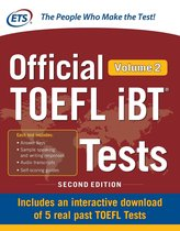 Boek cover Official TOEFL iBT Tests Volume 2, Second Edition van Educational Testing Service (Onbekend)