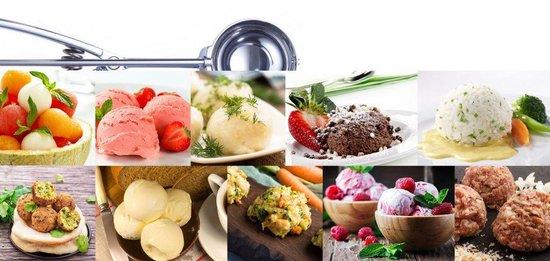 IJslepel / ijsschep / ijsboltang / bolletjeslepel / portioneerlepel / scoop - RVS - GS Quality Products